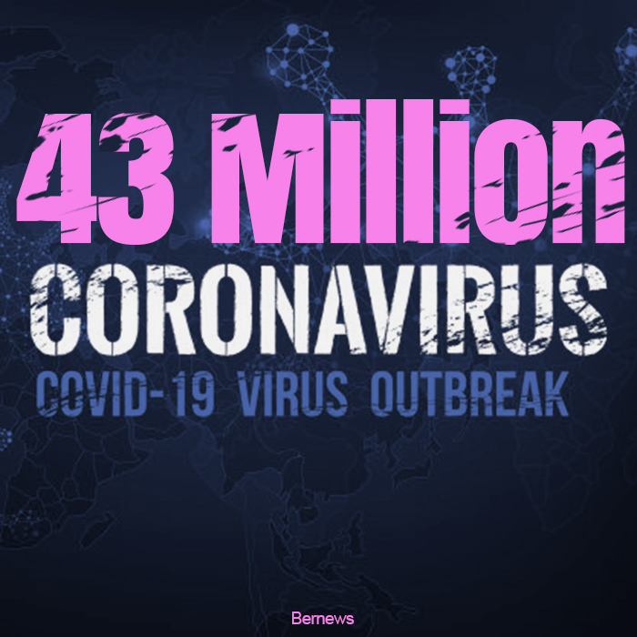 43 million coronavirus covid-19 outbreak IG