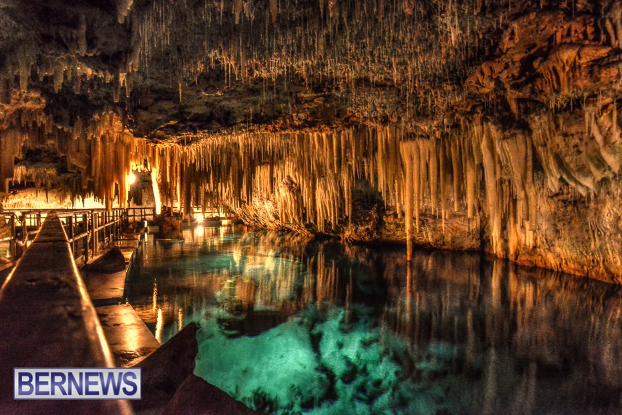 764 - Bermuda has quite a few natural caves, some public and some private. This is Crystal Caves