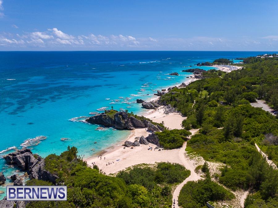 893 - A bird's eye view of the beautiful beaches along the south shore