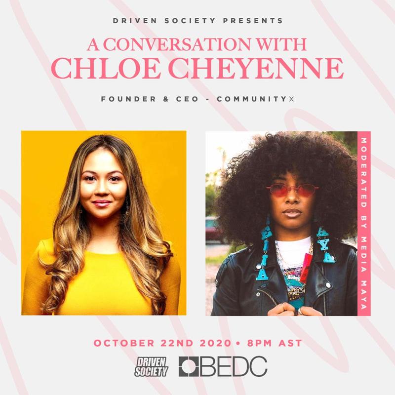 A Conversation with Chloe Cheyenne Bermuda Oct 2020