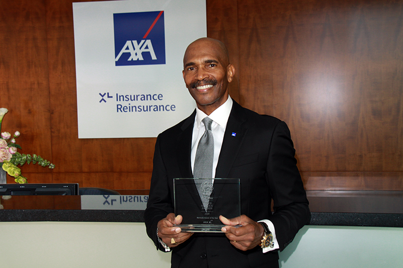 AXA XL Wins Bermuda Insurer Of The Year Oct 2020
