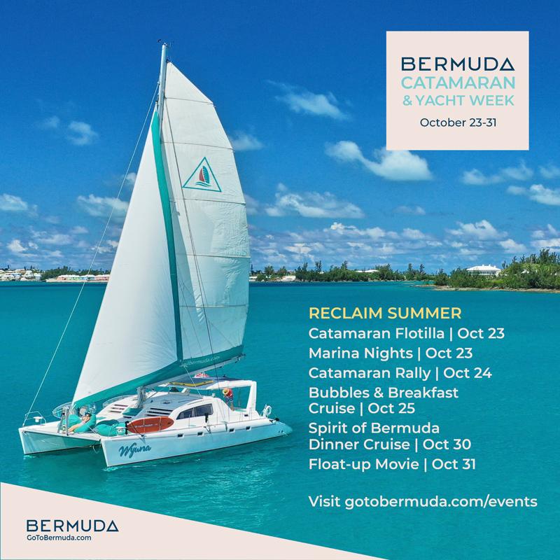 Bermuda Catamaran & Yacht Week Oct 2020