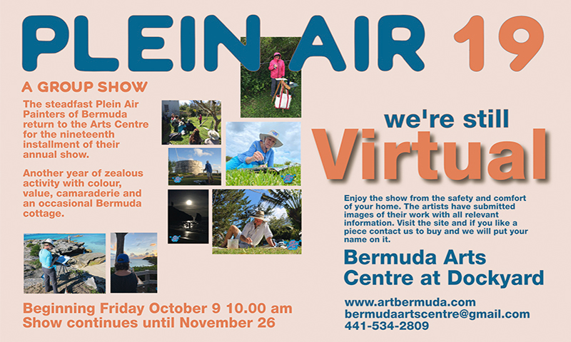 Bermuda Plein Air 19 Oct 2020