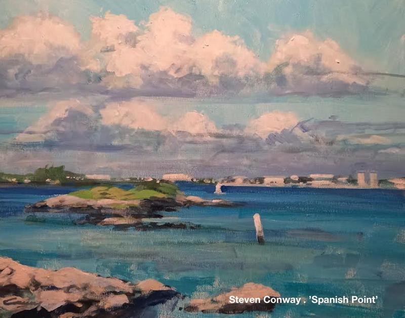 Bermuda Plein Air Steven Conway . Spanish Point