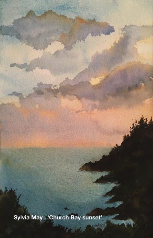 Bermuda Plein Air Sylvia May . Church Bay