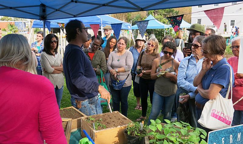 Chris Faria Founder Of AgraLiving Institute Bermuda Oct 2020