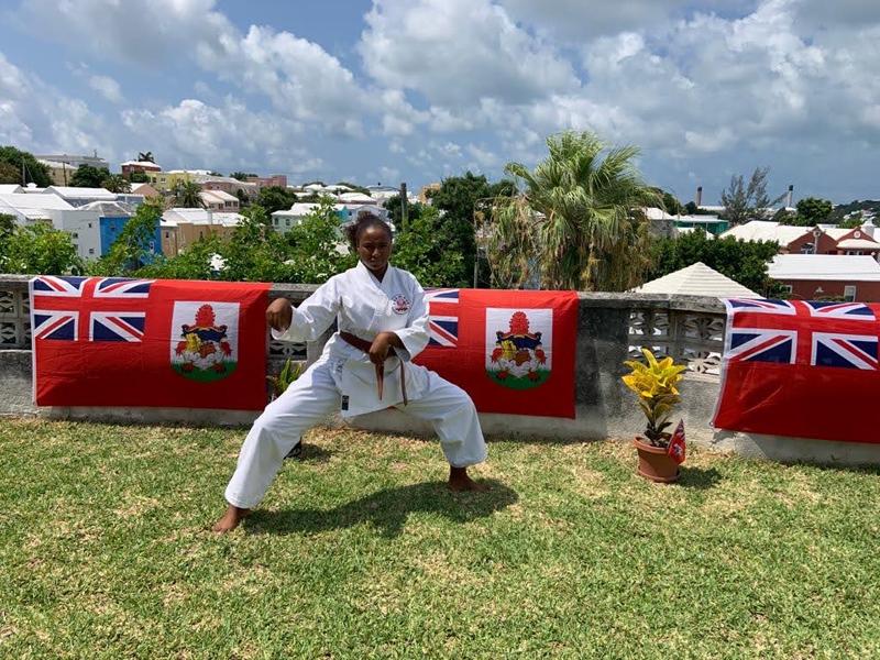 Dominique Brown Bermuda October 2020