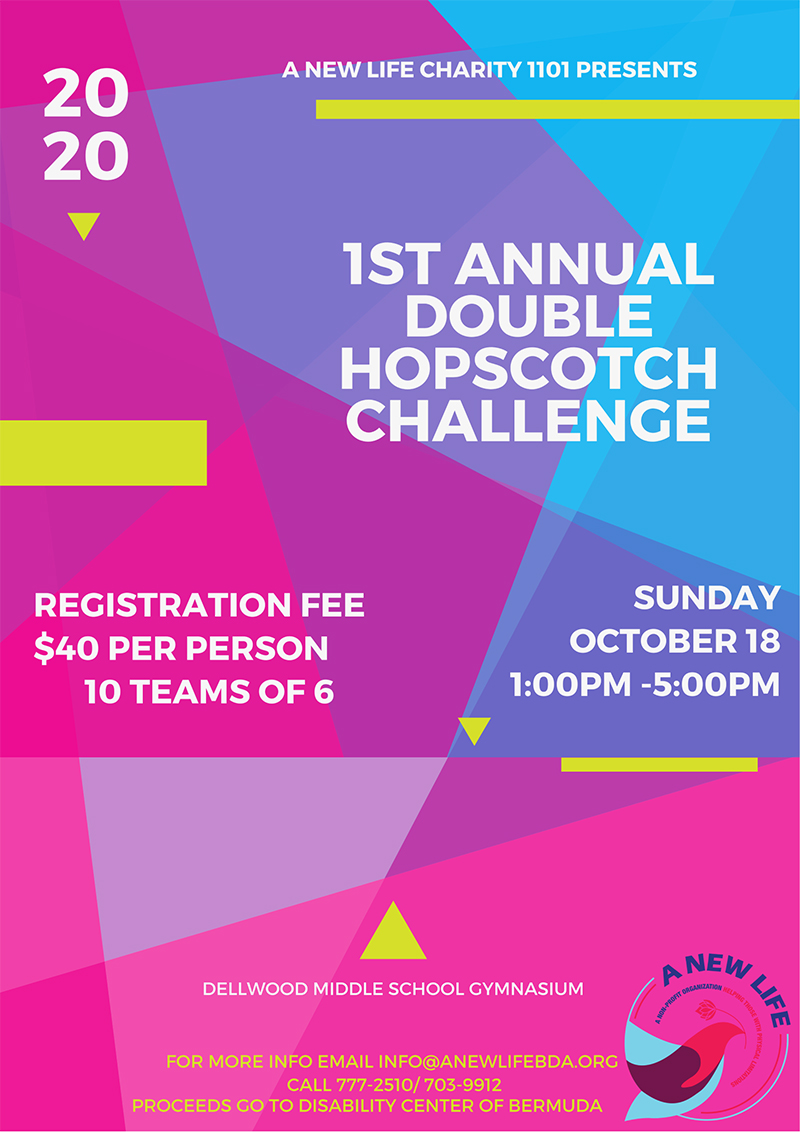 Double HopScotch Challenge Bermuda Oct 2020