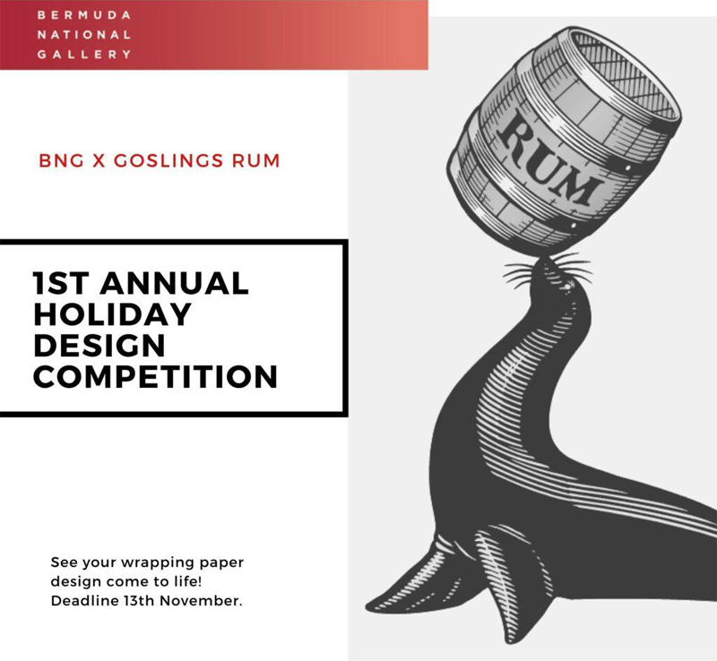Holiday Wrapping Paper Design Competition Bermuda Oct 2020
