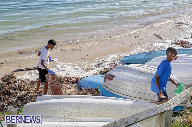 KBB Coastal Cleanup Bermuda Oct 2020 11