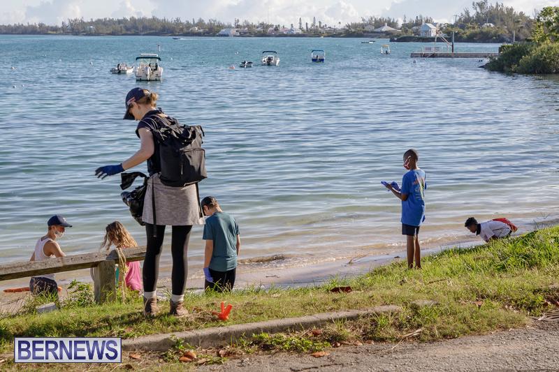 KBB Coastal Cleanup Bermuda Oct 2020 14