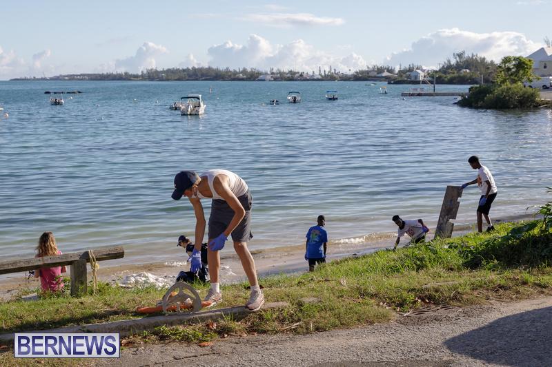 KBB Coastal Cleanup Bermuda Oct 2020 15
