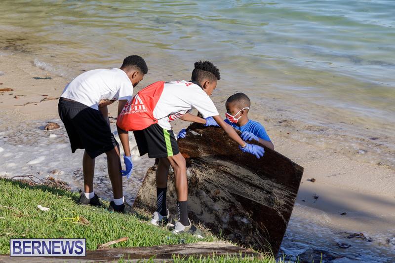 KBB Coastal Cleanup Bermuda Oct 2020 16