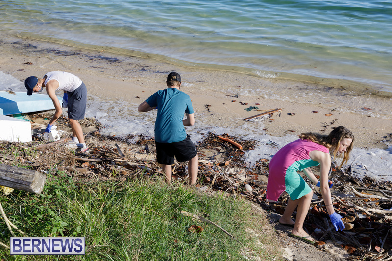 KBB Coastal Cleanup Bermuda Oct 2020 18