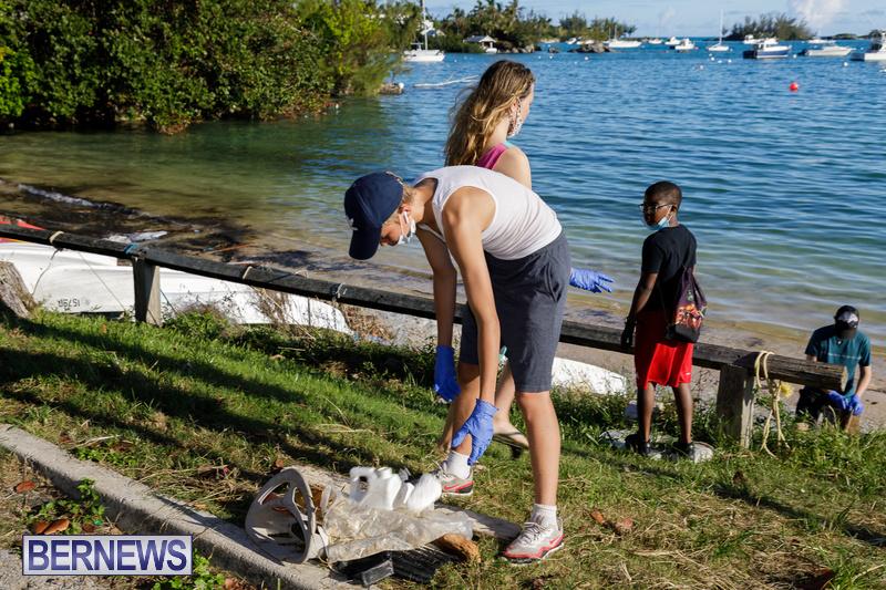 KBB Coastal Cleanup Bermuda Oct 2020 19