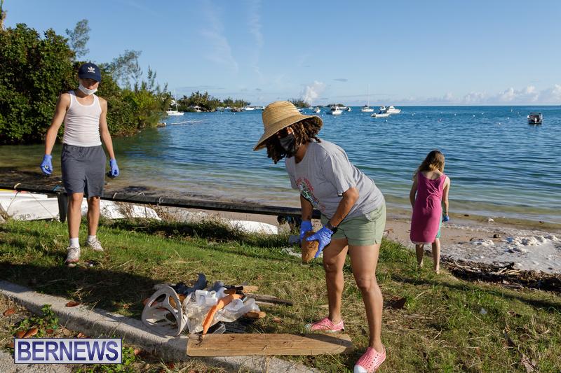 KBB Coastal Cleanup Bermuda Oct 2020 21
