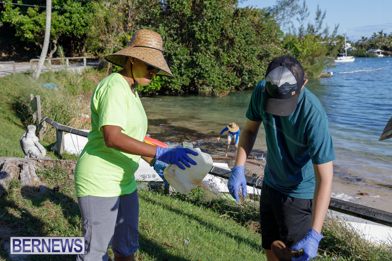 KBB Coastal Cleanup Bermuda Oct 2020 22