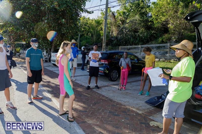 KBB Coastal Cleanup Bermuda Oct 2020 5