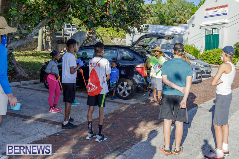 KBB Coastal Cleanup Bermuda Oct 2020 6
