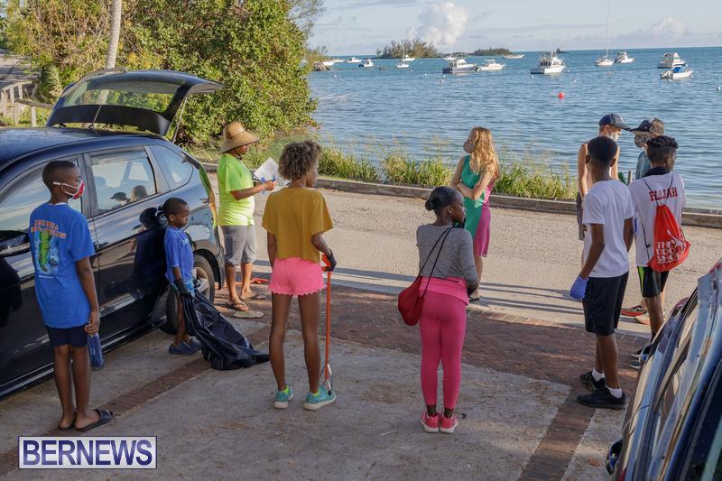 KBB Coastal Cleanup Bermuda Oct 2020 8