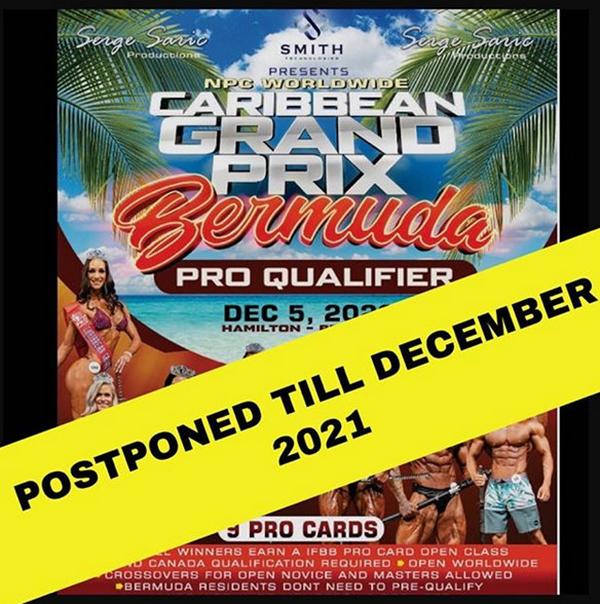 NPC Worldwide Caribbean Grand Prix Bermuda Oct 2020