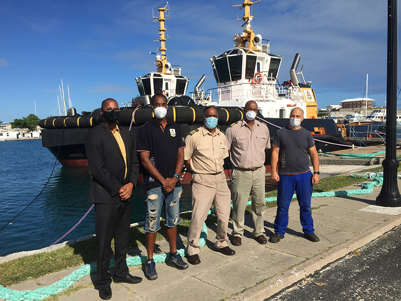 Official Handover Of Two New Tugboats Bermuda Oct 2020 1