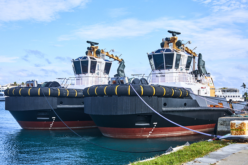 Official Handover Of Two New Tugboats Bermuda Oct 2020 2