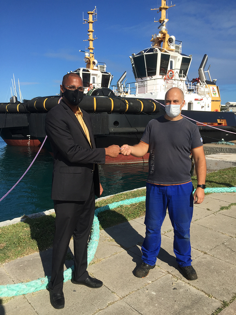 Official Handover Of Two New Tugboats Bermuda Oct 2020 4