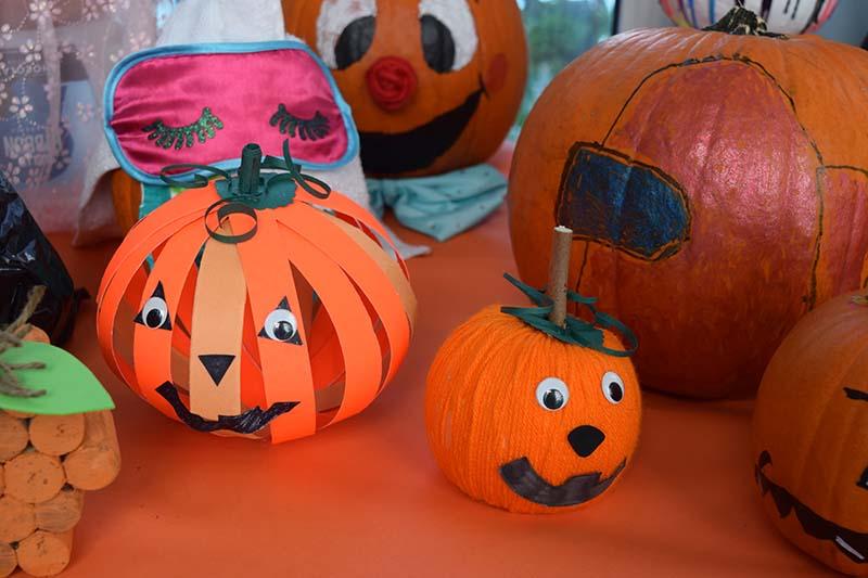 Pumpkin Decorating Display At MSA Bermuda Oct 2020 10