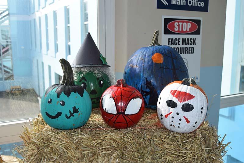 Pumpkin Decorating Display At MSA Bermuda Oct 2020 11