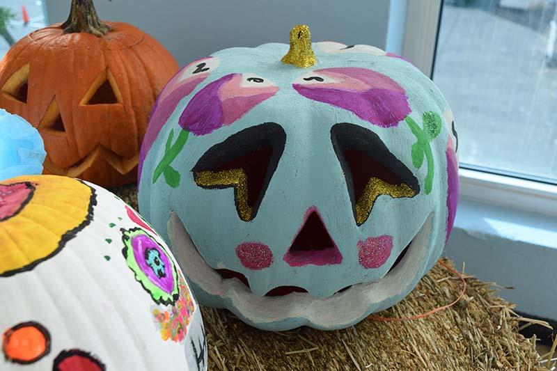 Pumpkin Decorating Display At MSA Bermuda Oct 2020 13