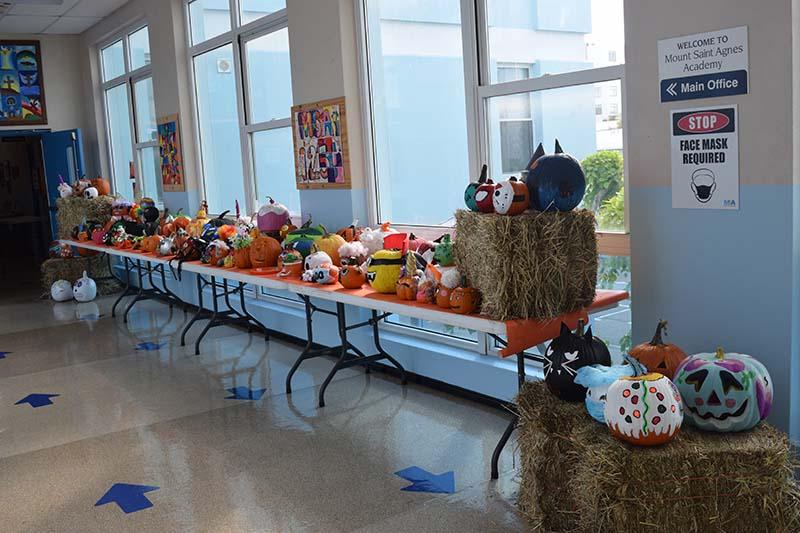 Pumpkin Decorating Display At MSA Bermuda Oct 2020 14