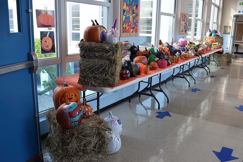 Pumpkin Decorating Display At MSA Bermuda Oct 2020 15