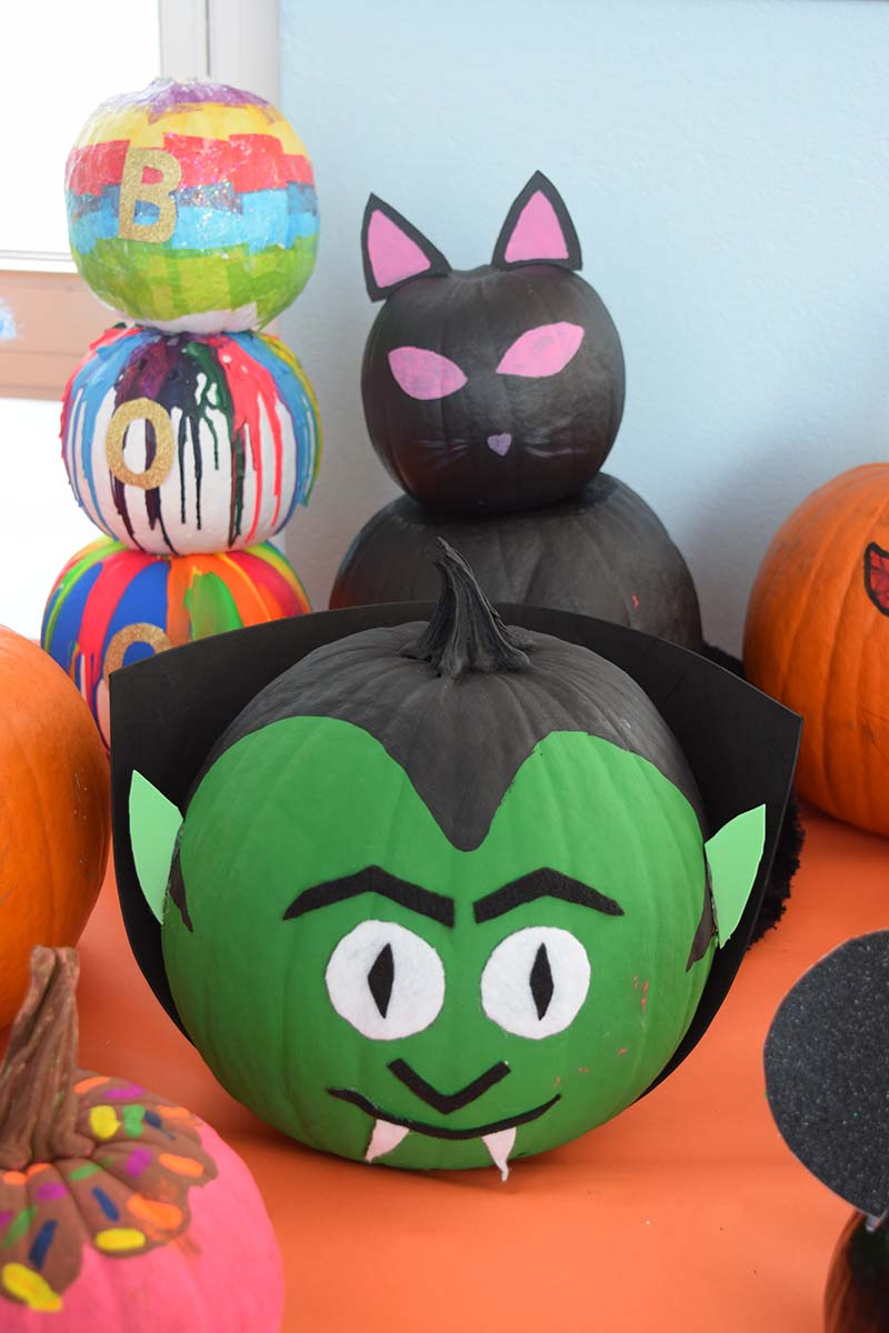 Pumpkin Decorating Display At MSA Bermuda Oct 2020 18