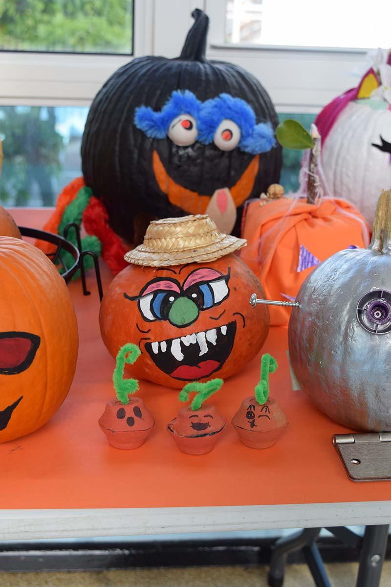 Pumpkin Decorating Display At MSA Bermuda Oct 2020 19