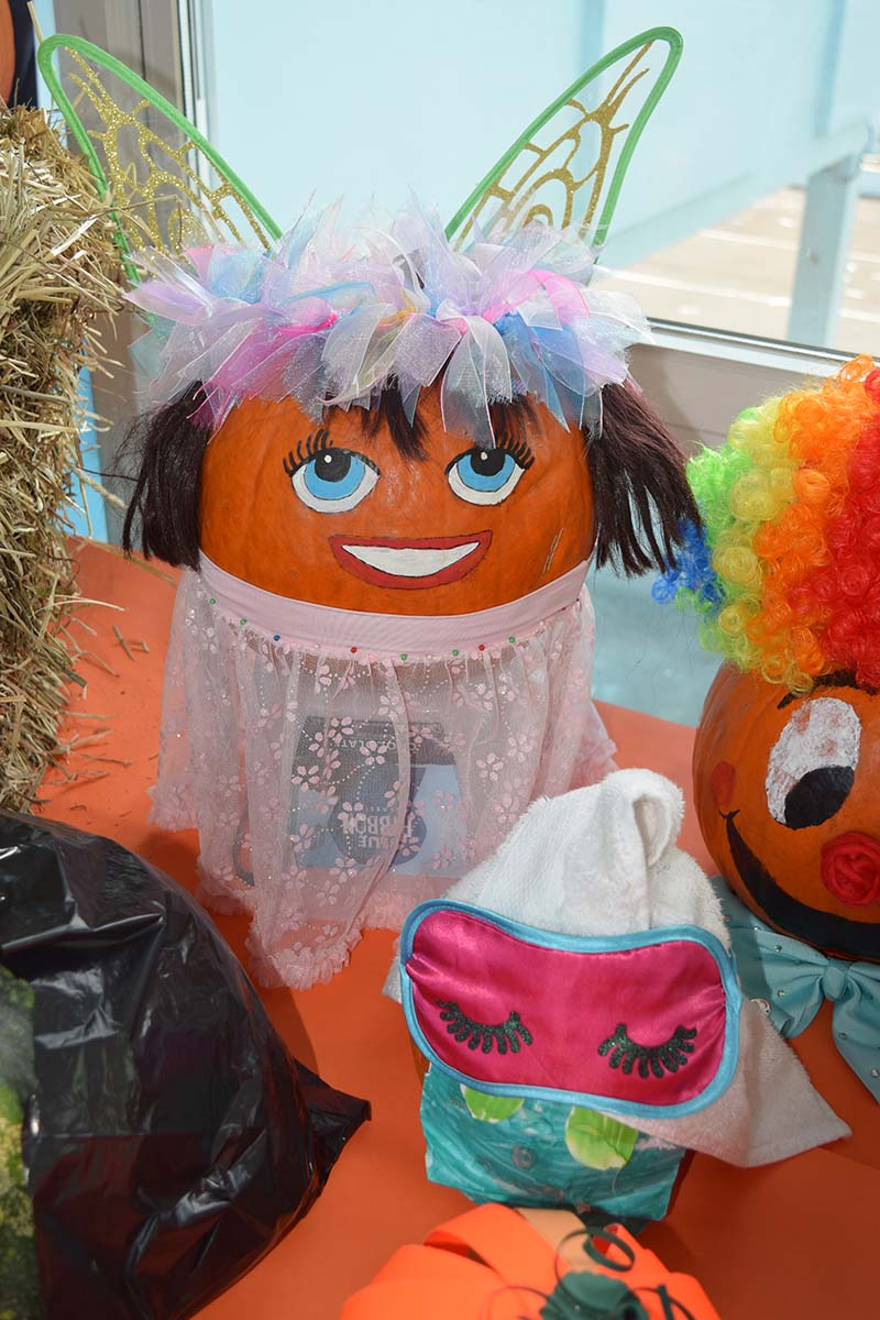 Pumpkin Decorating Display At MSA Bermuda Oct 2020 20