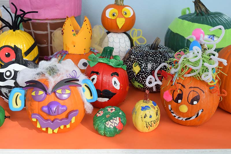 Pumpkin Decorating Display At MSA Bermuda Oct 2020 6