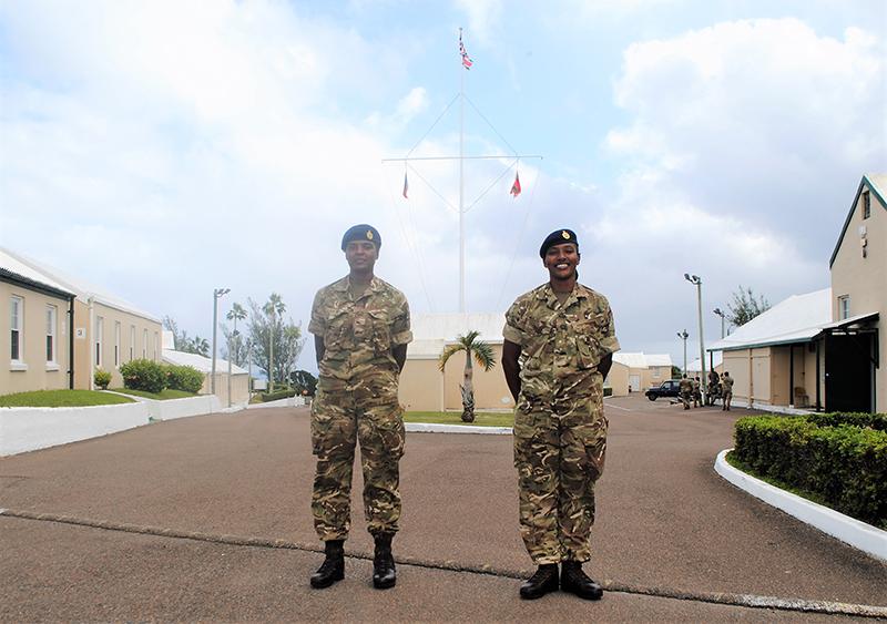 Regiment Bermuda Oct 23 2020 Hayward-Evans
