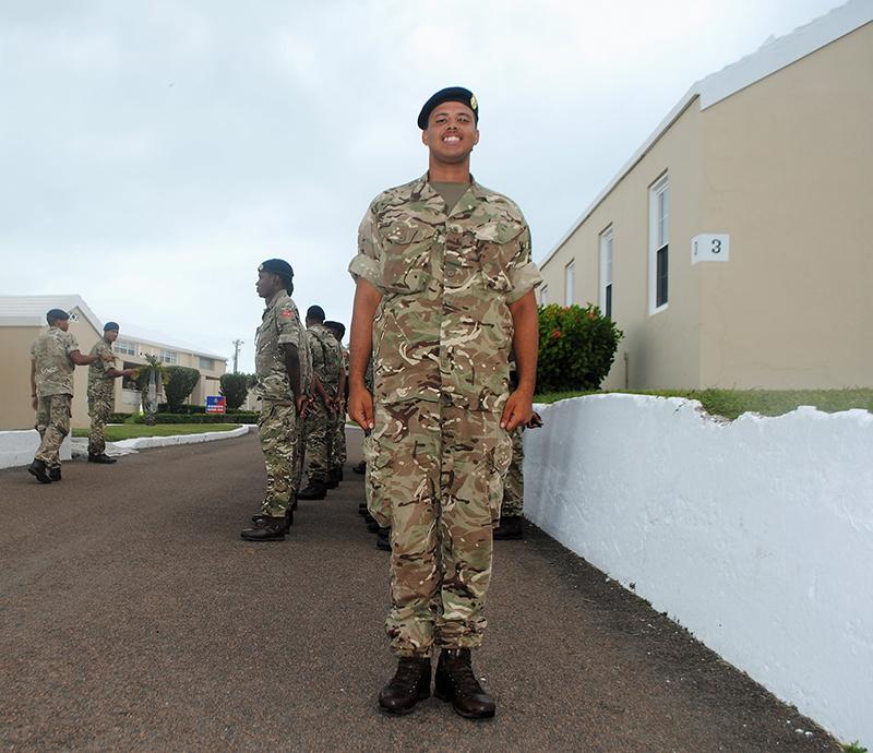 Regiment Bermuda Oct 23 2020 Rogers