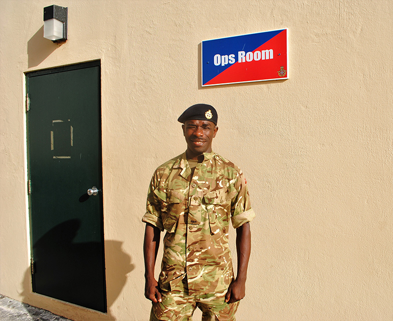 Regiment Bermuda Oct 23 2020 Tamba