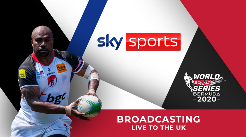 Sky Sports World Tens Series Bermuda Oct 2020