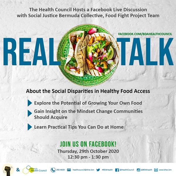 Social Disparities In Healthy Food Access Bermuda Oct 2020