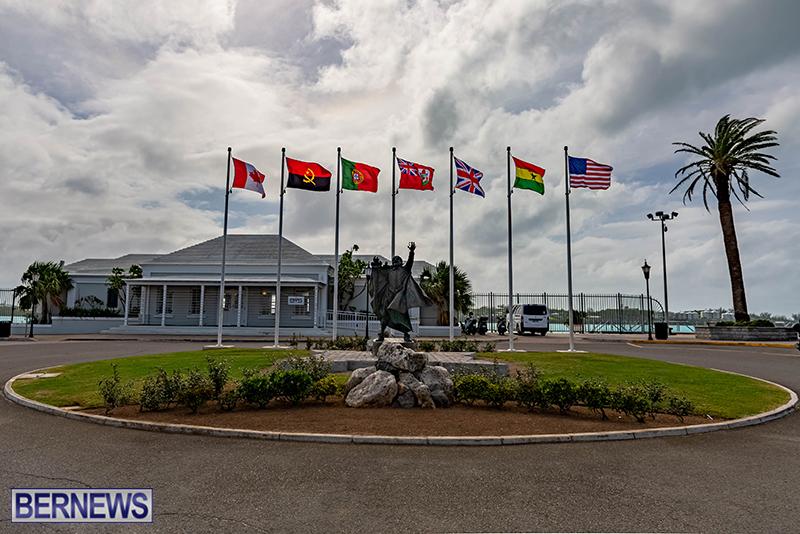 Statue of Sir George Somers Bermuda Oct 21 2020 (2)