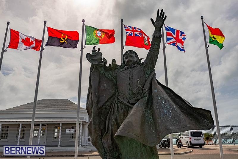 Statue of Sir George Somers Bermuda Oct 21 2020 (3)