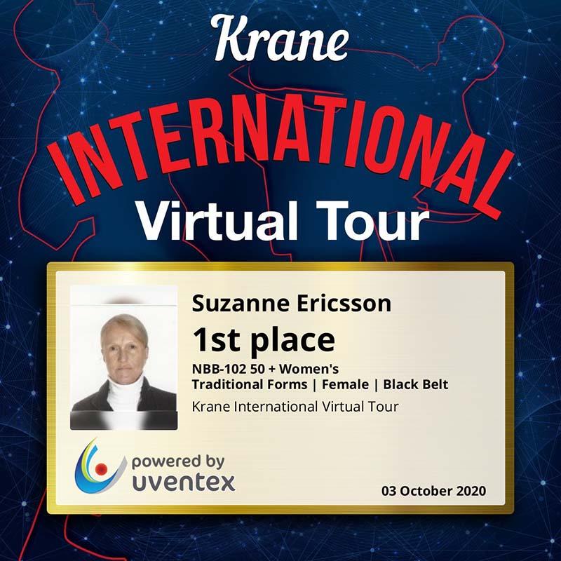 Suzanne Ericsson Wins Awards Bermuda Oct 2020 3