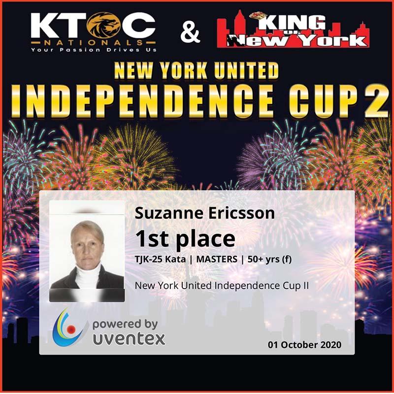 Suzanne Ericsson Wins Awards Bermuda Oct 2020 4