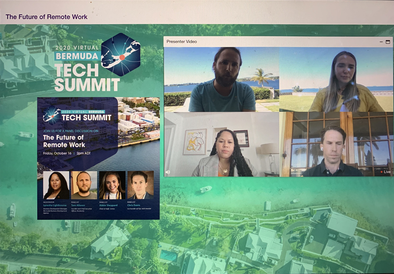 The Future of Remote Work Panel Bermuda Oct 2020