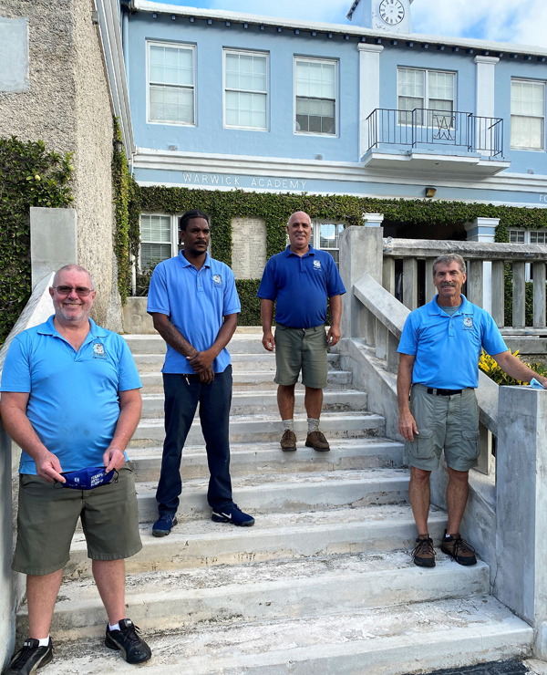 Thorne, Ramatar, Rodgriques and McCullough Bermuda Oct 2020