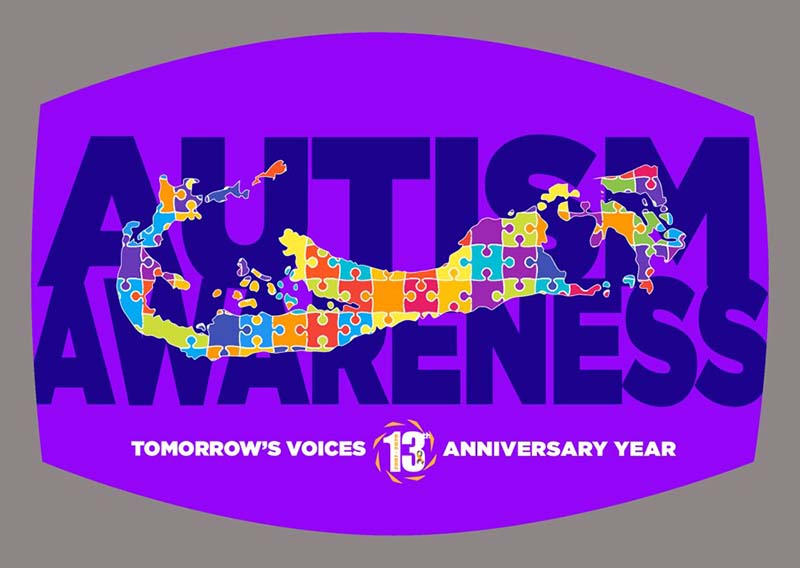 """Tomorrow's Voices' """"Mask Up In Honour Of Autism"""" Bermuda Oct 2020 7"""