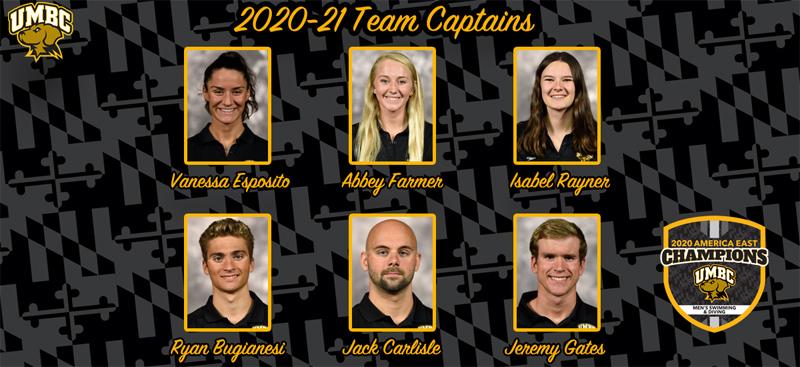 UMBC 2020-2021 Team Captains October 2020